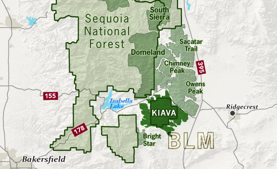 area map of Kiavah